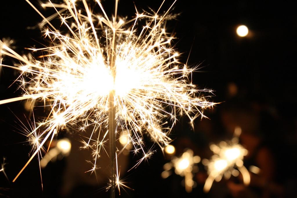 sparklers courtesy FlickrCC derekskey lindsey lewis libre living