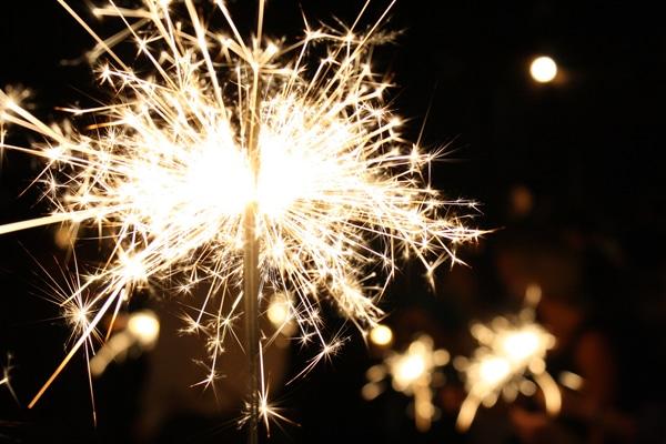 sparklers courtesy FlickrCC derekskey 600w
