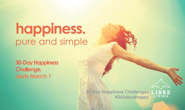 30 day happiness challenge with lindsey lewis on libre living