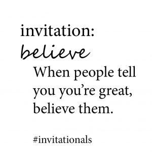 believe bigger