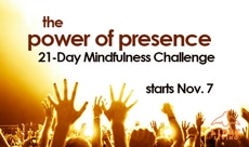 the power of presence 21 day mindfulness challenge