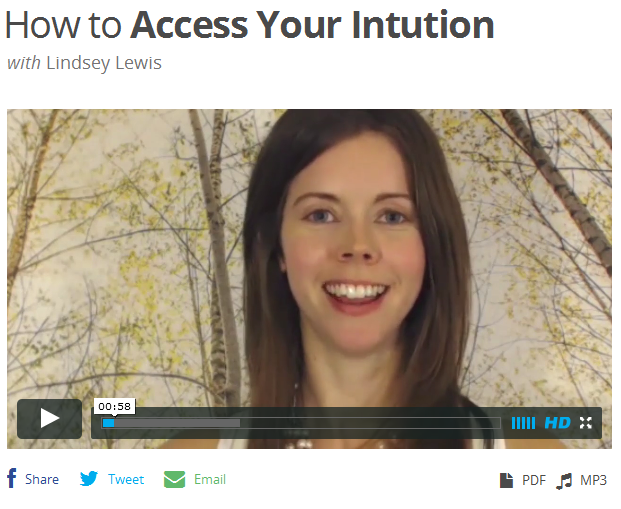 entheos how to access your intuition